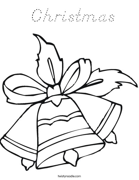 Bells Coloring Page