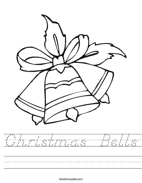 Bells Worksheet