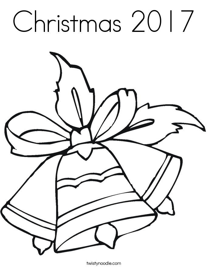 Christmas 2017 Coloring Page