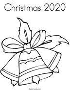 Christmas 2020 Coloring Page