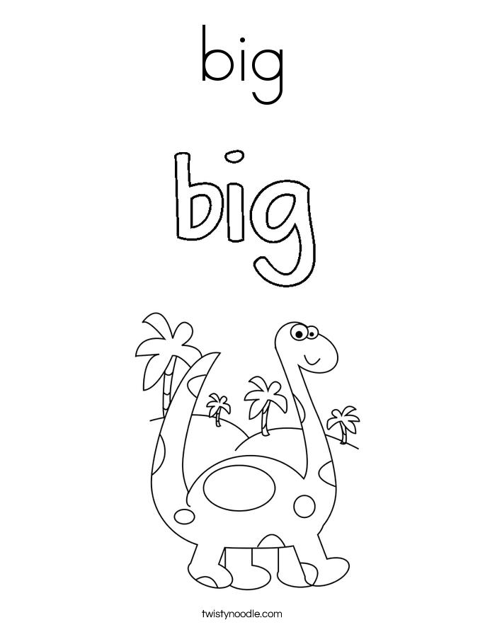 big Coloring Page