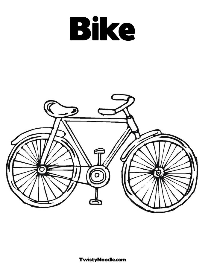 Bicycle Safety Coloring Pages Printablecolouringpagescouk S