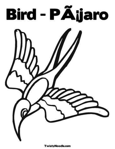 tropical bird coloring pages - photo#25