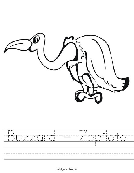 Buzzard Worksheet