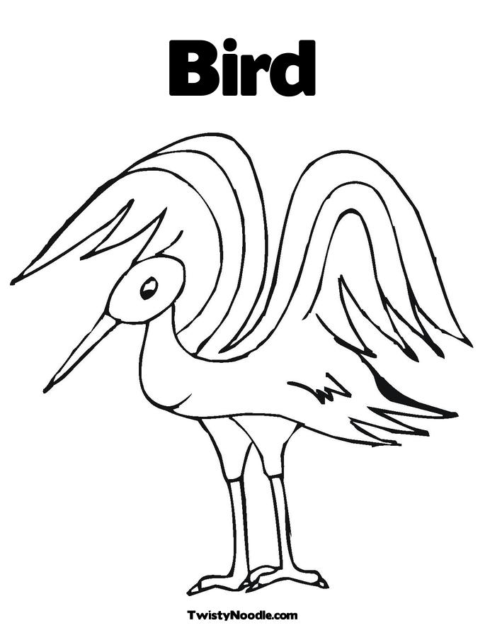Coloring pages Birds - cat c76