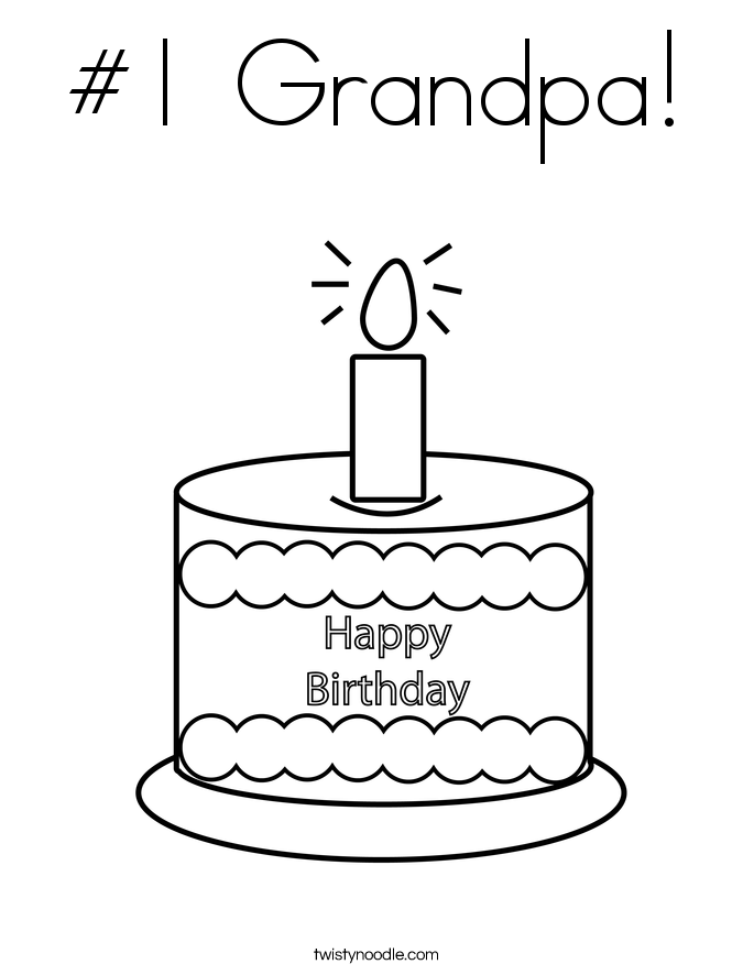 1 grandpa coloring pages | 1 Grandpa Coloring Coloring Pages