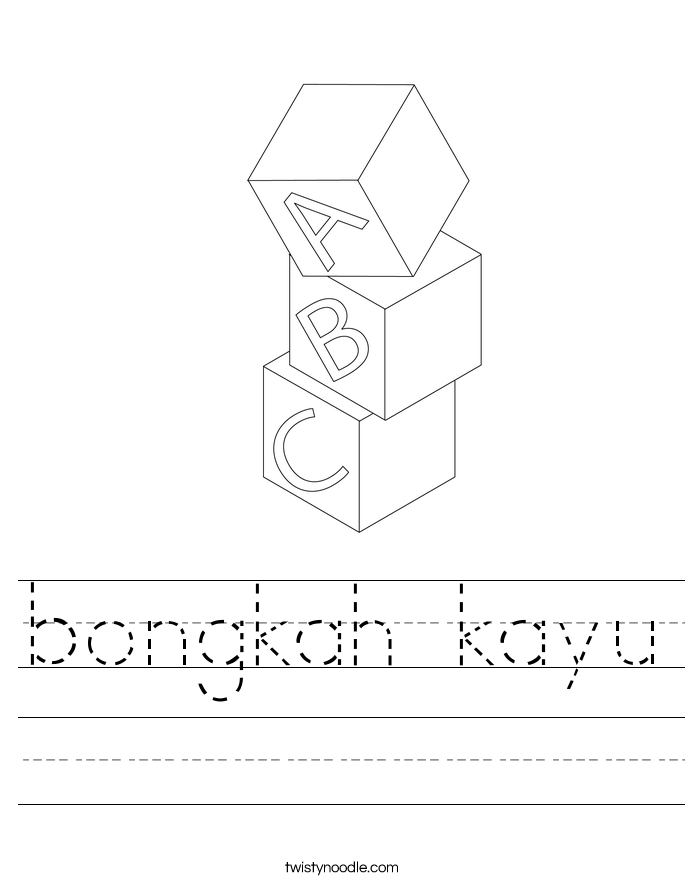 bongkah kayu Worksheet