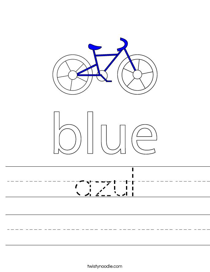 azul Worksheet
