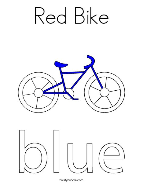 printable bicycle coloring pages - photo#28