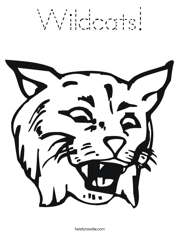 Wildcats! Coloring Page
