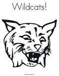 Wildcats!Coloring Page