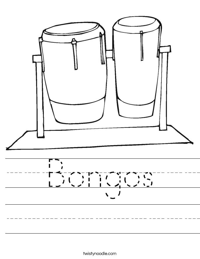 Bongos Worksheet