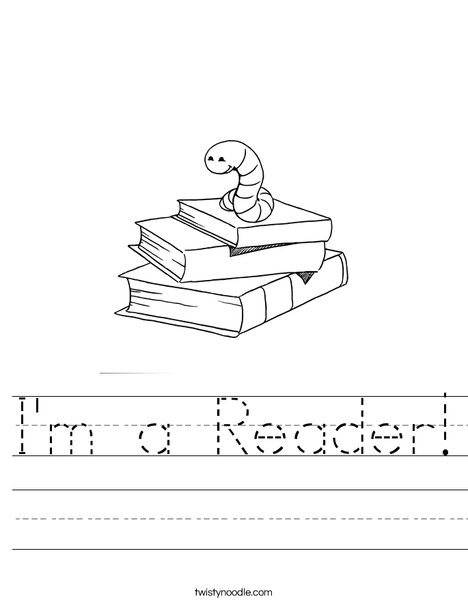 Book Worm Worksheet