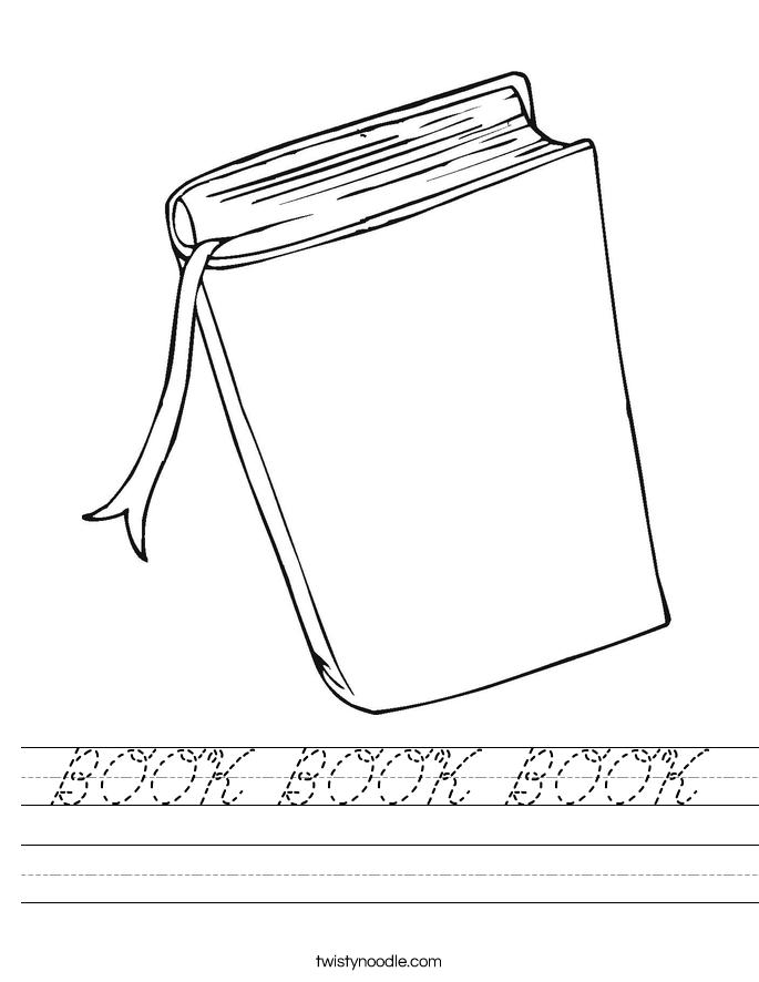 BOOK BOOK BOOK Worksheet