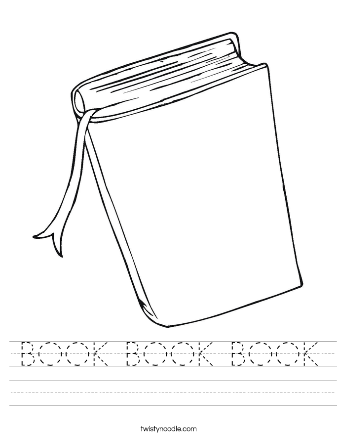 BOOK BOOK BOOK Worksheet