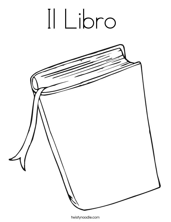 Il Libro  Coloring Page