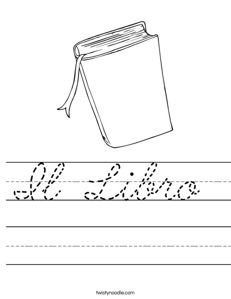 Book Worksheet
