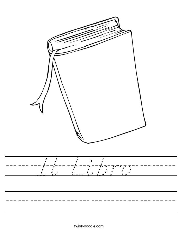 Il Libro  Worksheet
