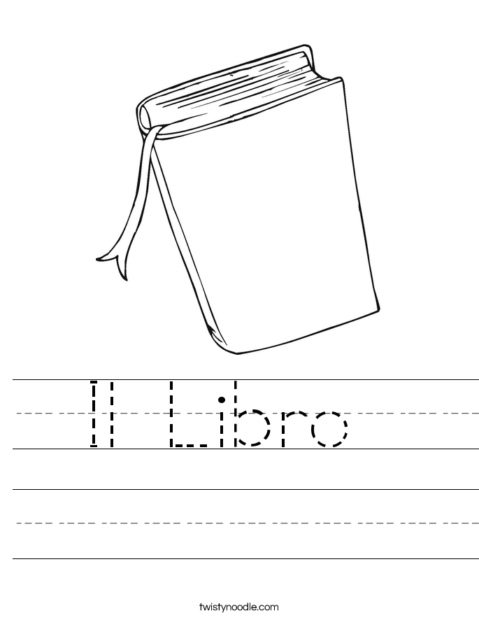 Il Libro  Worksheet