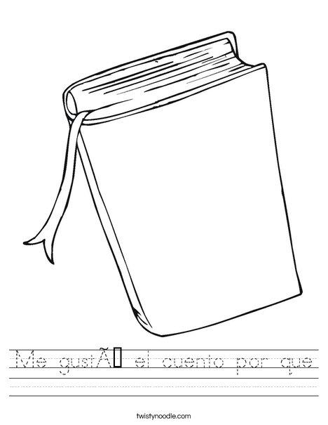 Book Worksheet