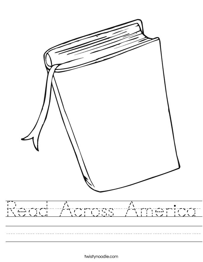 Read Across America Worksheet