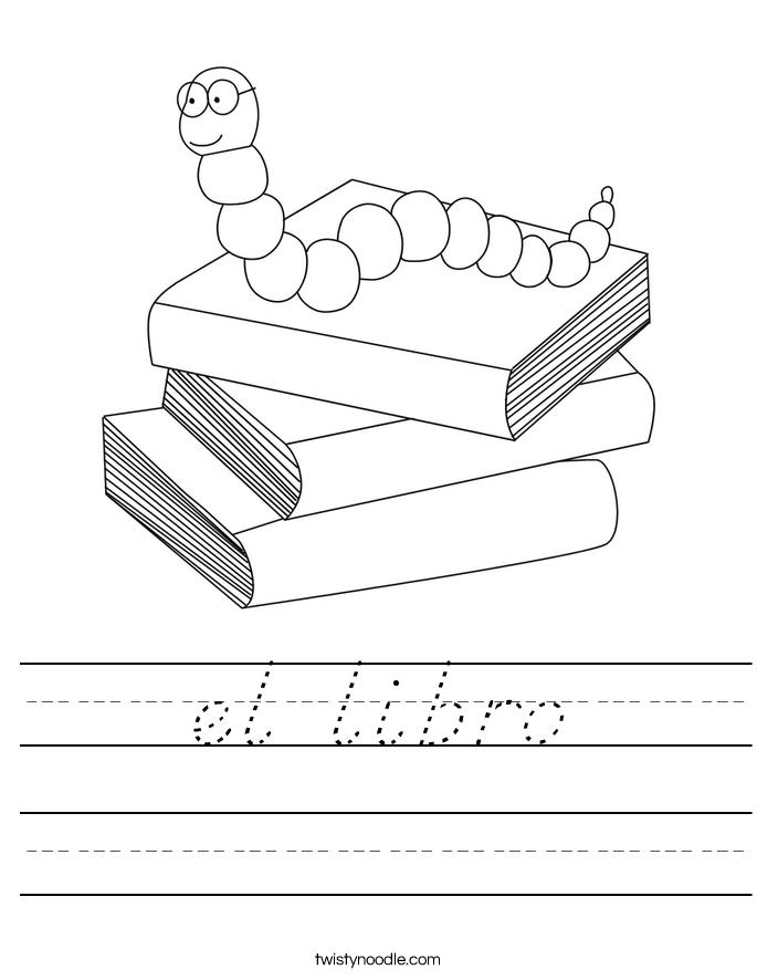 el libro Worksheet