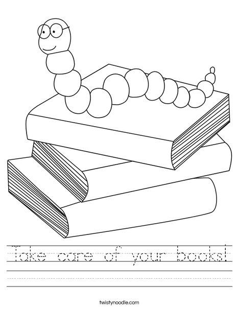 Books! Worksheet