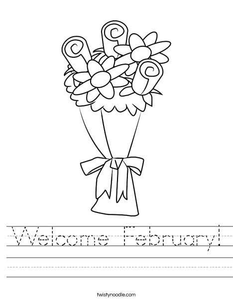 Bouquet Worksheet