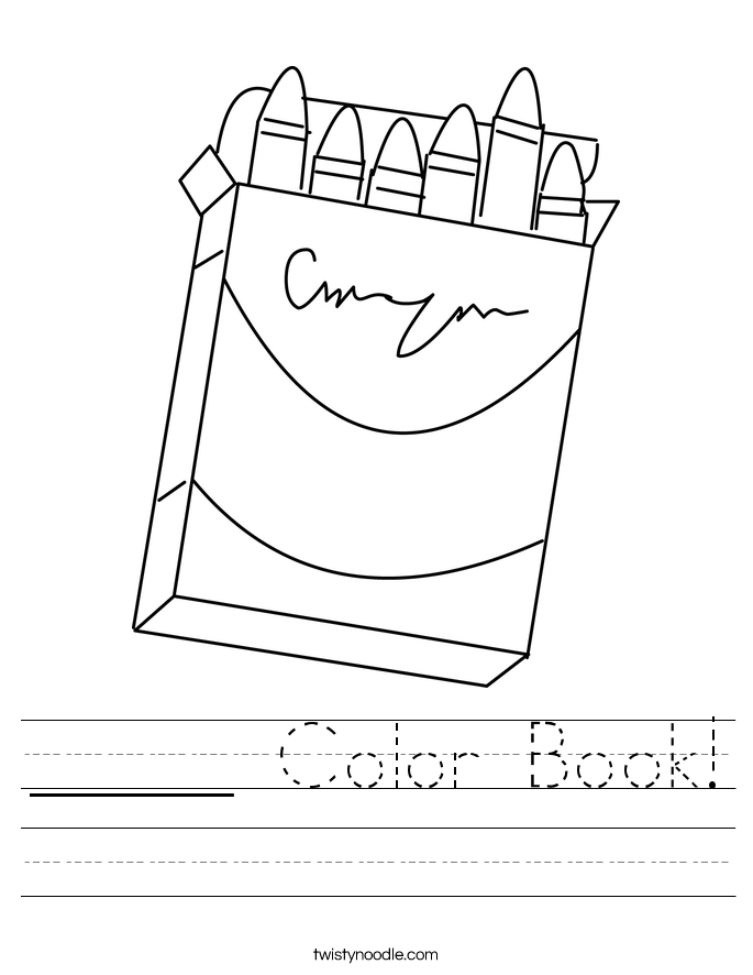 _____ Color Book! Worksheet