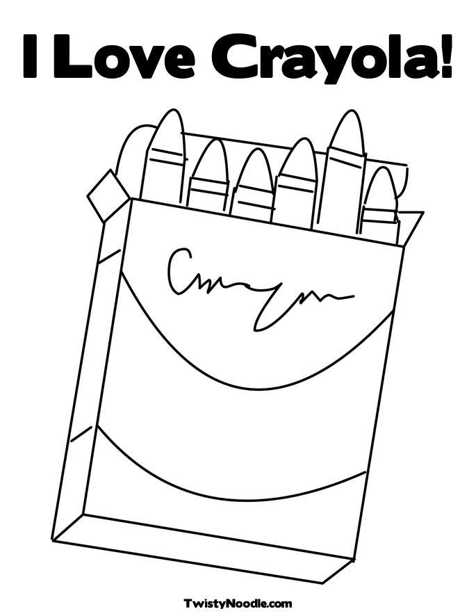 crayola crayons coloring pages - photo#11