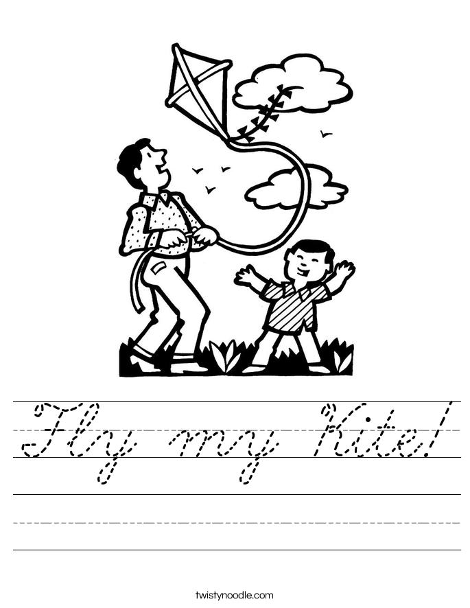 Fly my Kite! Worksheet