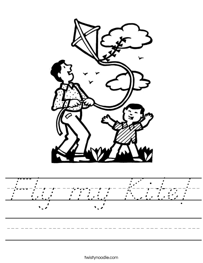 Fly my Kite! Worksheet