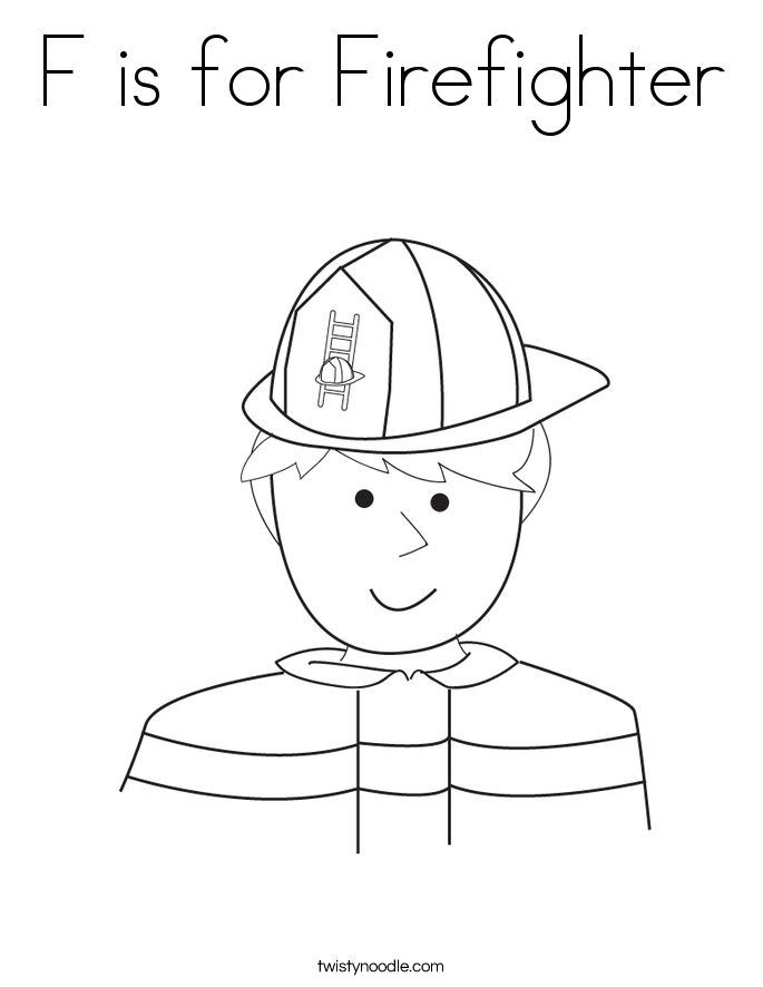 Fire Helmet Coloring Pages