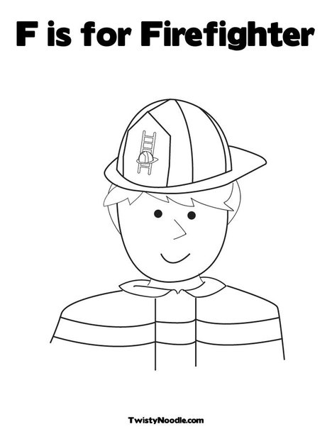 fireman and policeman coloring pages - photo #48