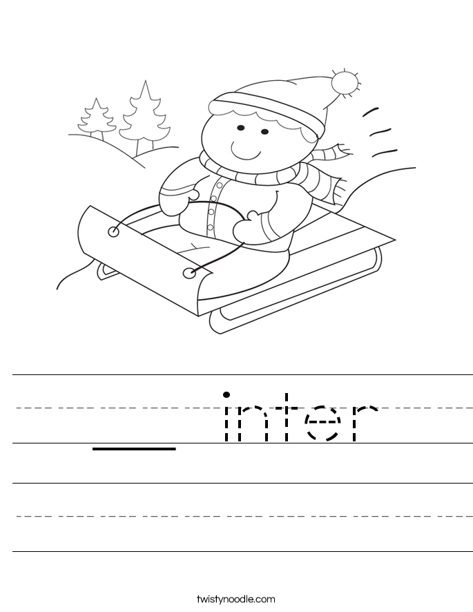 __ inter Worksheet
