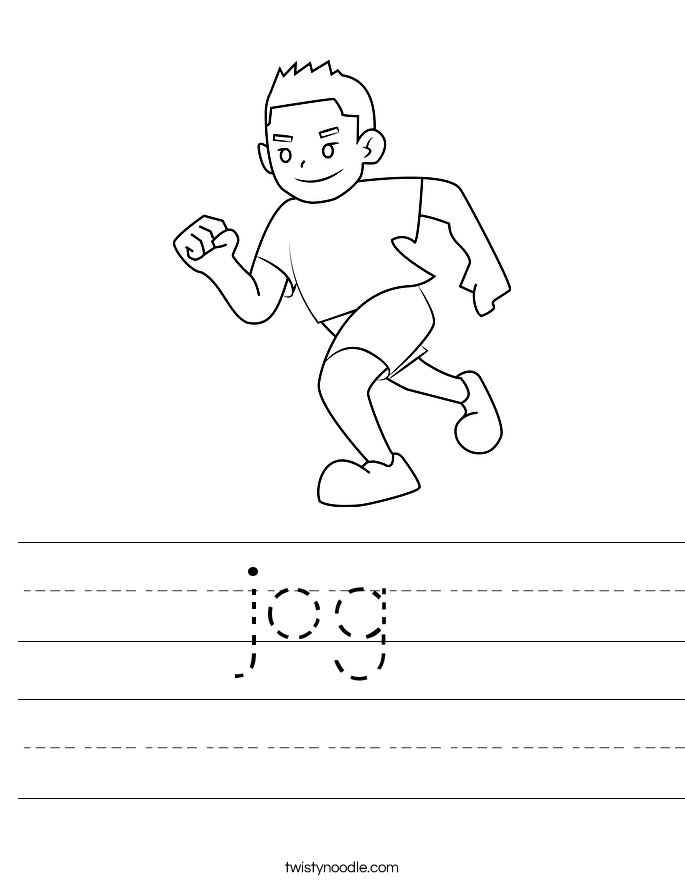 jog Worksheet