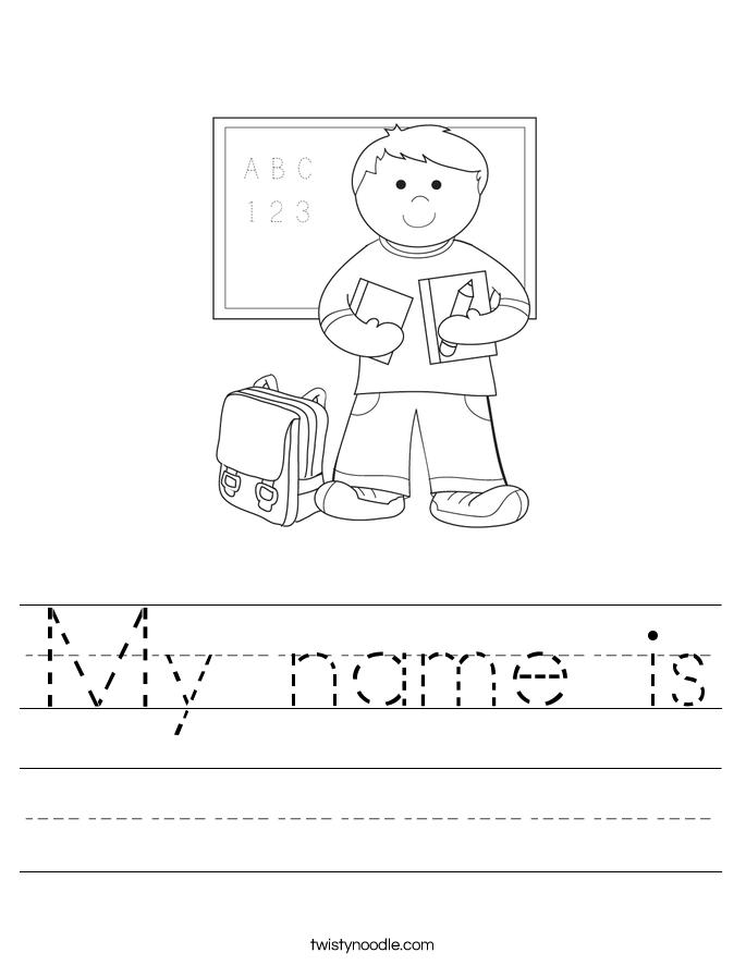 Name Delibertad – Name Worksheet