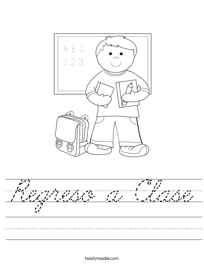 Regreso a Clase Worksheet