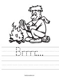 Brrrr.... Worksheet