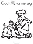 Godt å varme segColoring Page