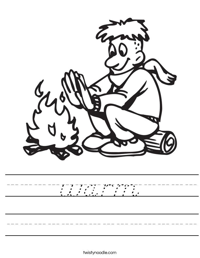 warm Worksheet