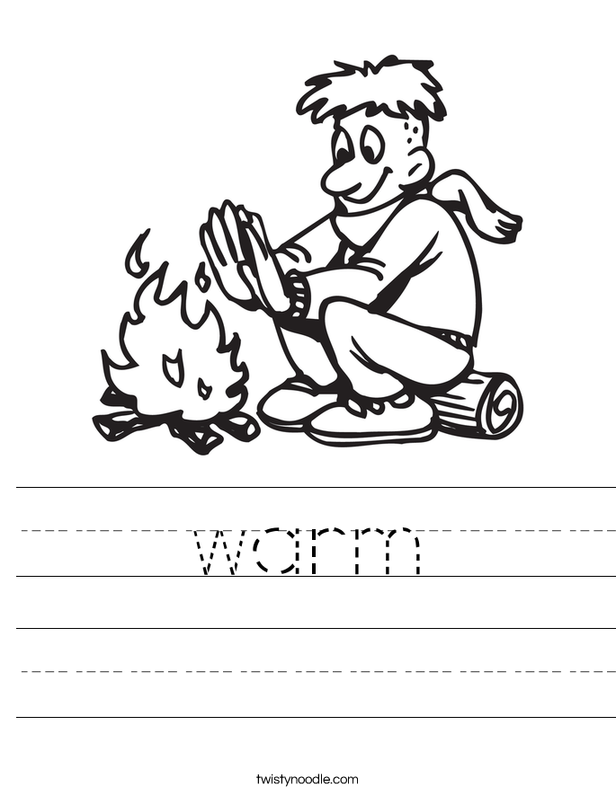 warm Worksheet