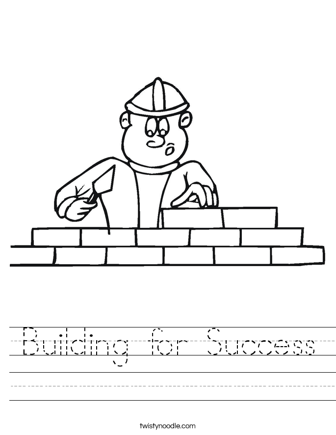 Building for Success Worksheet