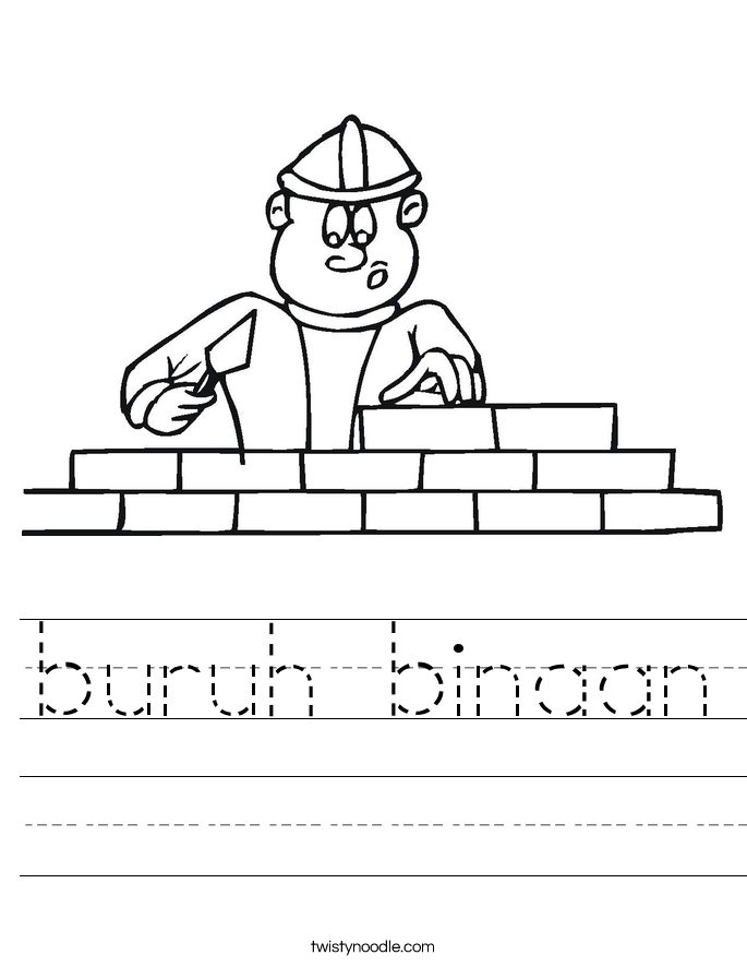 buruh binaan Worksheet