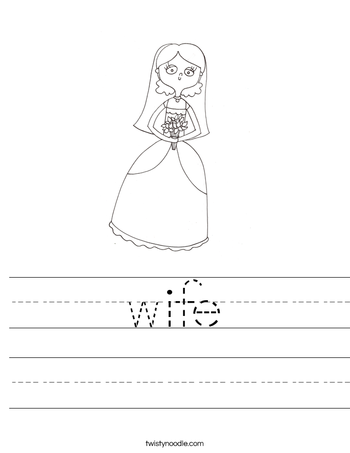 wife Worksheet