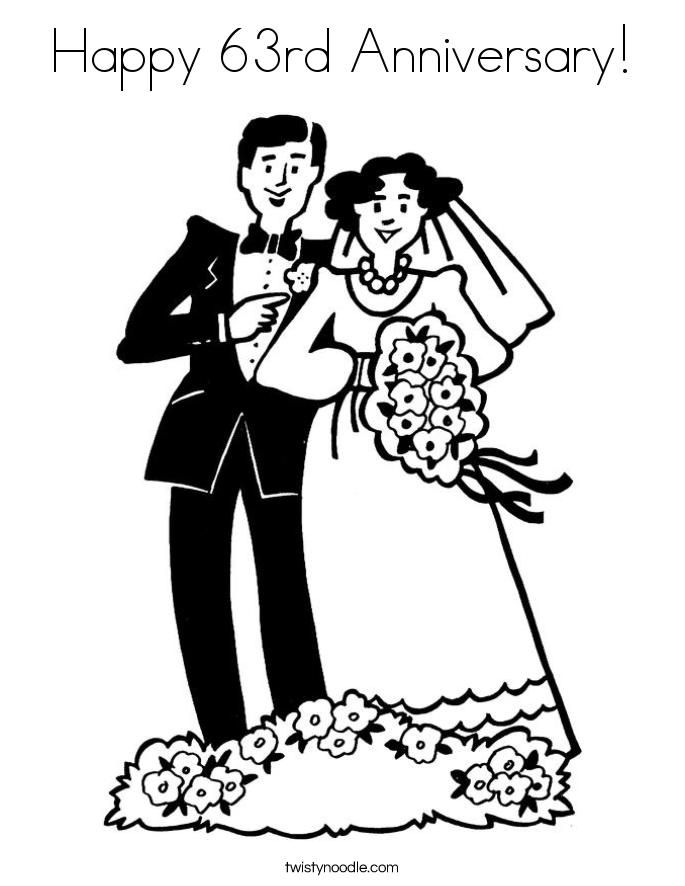 Раскраски на годовщину свадьбы папе и маме распечатать