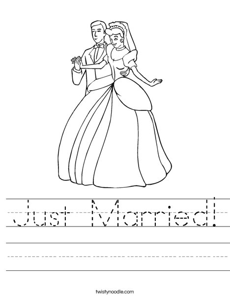 Bride and Groom3 Worksheet