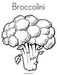 BroccoliniColoring Page