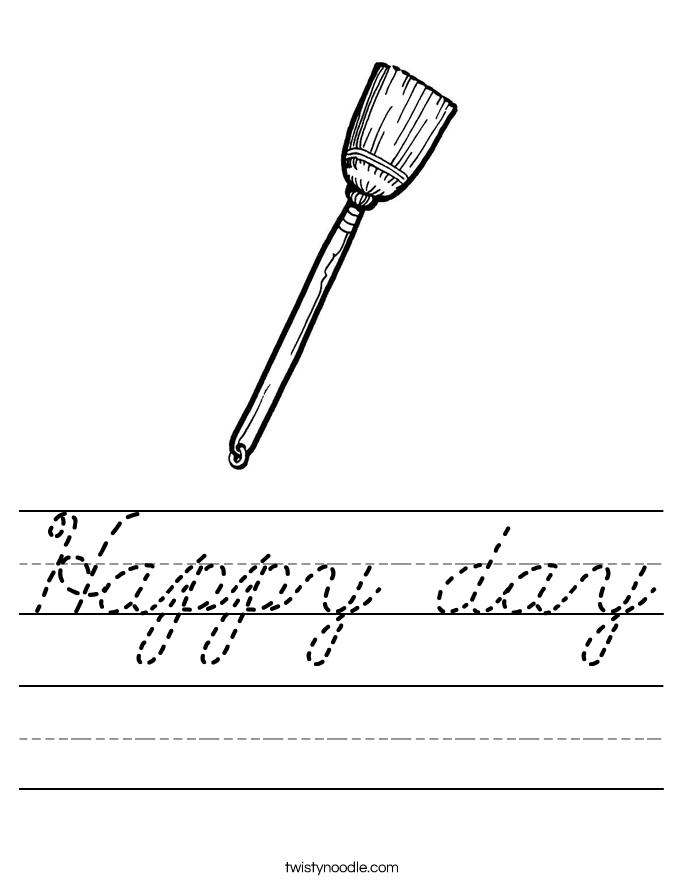 Happy day Worksheet