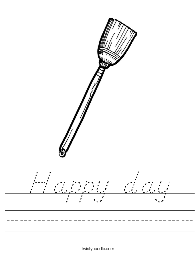 Happy day Worksheet